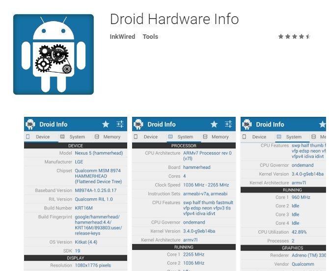 Droid info APK