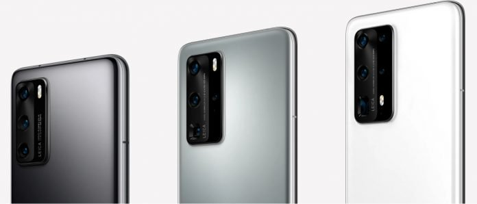 Install firmware on Huawei P40